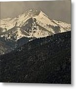 High Mountains Of Taos Metal Print