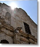 High Noon At The Alamo Metal Print