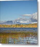 High Peaks Autumn Metal Print
