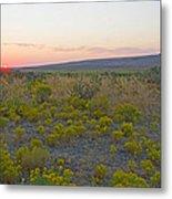 High Plains Desert Landscape Metal Print
