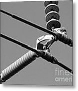 High Power Lines - 1 Metal Print