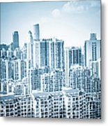 High Rise Residential Area Metal Print
