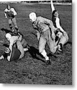 High School Football, 1941 Metal Print