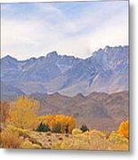 High Sierra Autumn Metal Print