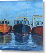 High Tide Breton Harbor Metal Print