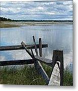 High Tide Lieutenant Island Marsh Metal Print