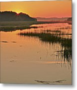 High Tide Sunrise Metal Print