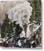 Highball Through Cascade Canyon Metal Print