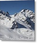 Highest Peak St Mortiz Metal Print