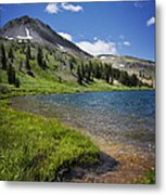 Highland Lakes Metal Print