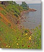 Highlands Coastline In Cape Breton Highlands Np-ns Metal Print