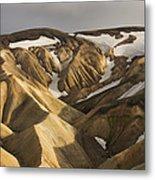 Highlands Fjallabak Nature Reserve Metal Print