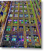 Highrise Surprise Metal Print