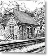 Highlands Train Station Metal Print