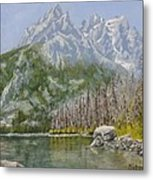 Highwater Pines Metal Print