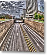 Highway Into St. Louis Metal Print