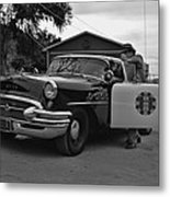 Highway Patrol 4 Metal Print by Tommy Anderson