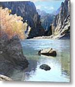 Hikers Haven Metal Print