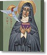 St. Hildegard Of Bingen 171 Metal Print