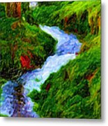 Hill And Rill Metal Print