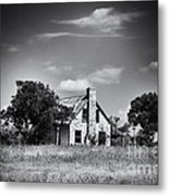 Hill Country Homestead Metal Print