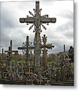 Hill Of Crosses 06. Lithuania.  Metal Print