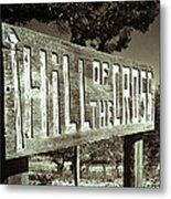 Hill Of The Cross Metal Print