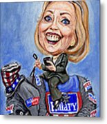 Hillary Clinton 2016 Metal Print by Mark Tavares