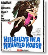 Hillbillys In A Haunted House, Bottom Metal Print