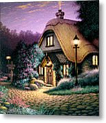 Hillcrest Cottage Metal Print