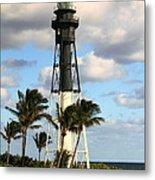 Hillsboro Inlet Lighthouse Metal Print