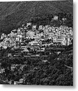 Hillside Amalfi Coast Metal Print
