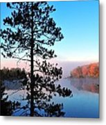 Hilltop View Of Stoneledge Lake Metal Print by Terri Gostola