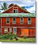 Hilo Town House Metal Print