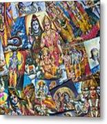Hindu Deity Posters Metal Print
