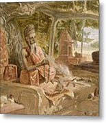 Hindu Fakir, From India Ancient Metal Print