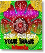 Hippie Art Metal Print