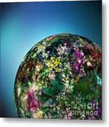 Hippies' Planet 2 Metal Print