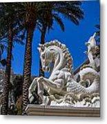 Hippocampus At Caesars Palace Metal Print