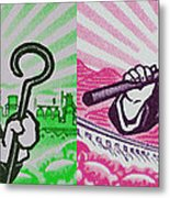 His And Hers Cultural Revolution Metal Print