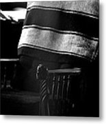 His Chair 2 Metal Print