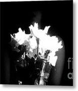 His Flowers Mean Nothing Metal Print