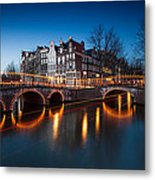 Historic Amsterdam Metal Print