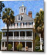 Historic Battery Home Metal Print
