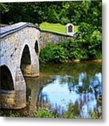 Historic Burnside Bridge Metal Print
