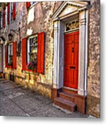 Historic Charleston - Pirate House Metal Print