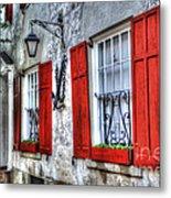 Historic Charleston Pirates House Metal Print