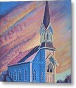 Historic Church  Metal Print