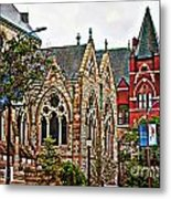 Historic Church St Louis Mo 2 Metal Print