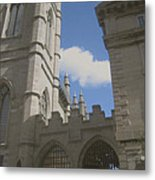 historic churches photography Detail Notre Dame Basilica Montreal Metal Print